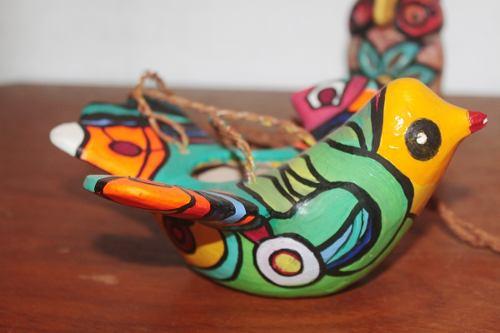 Adesivo De Parede Revestimento ~ Escultura em argila Só Artesanato Biju e Arte